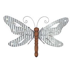 SONOMA Goods For LifeTM Galvanized Iron Butterfly Wall Decor