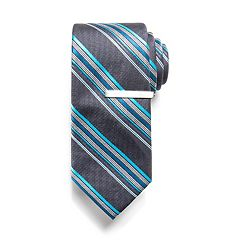 Men's Apt. 9® Skinny Tie and Tie Bar