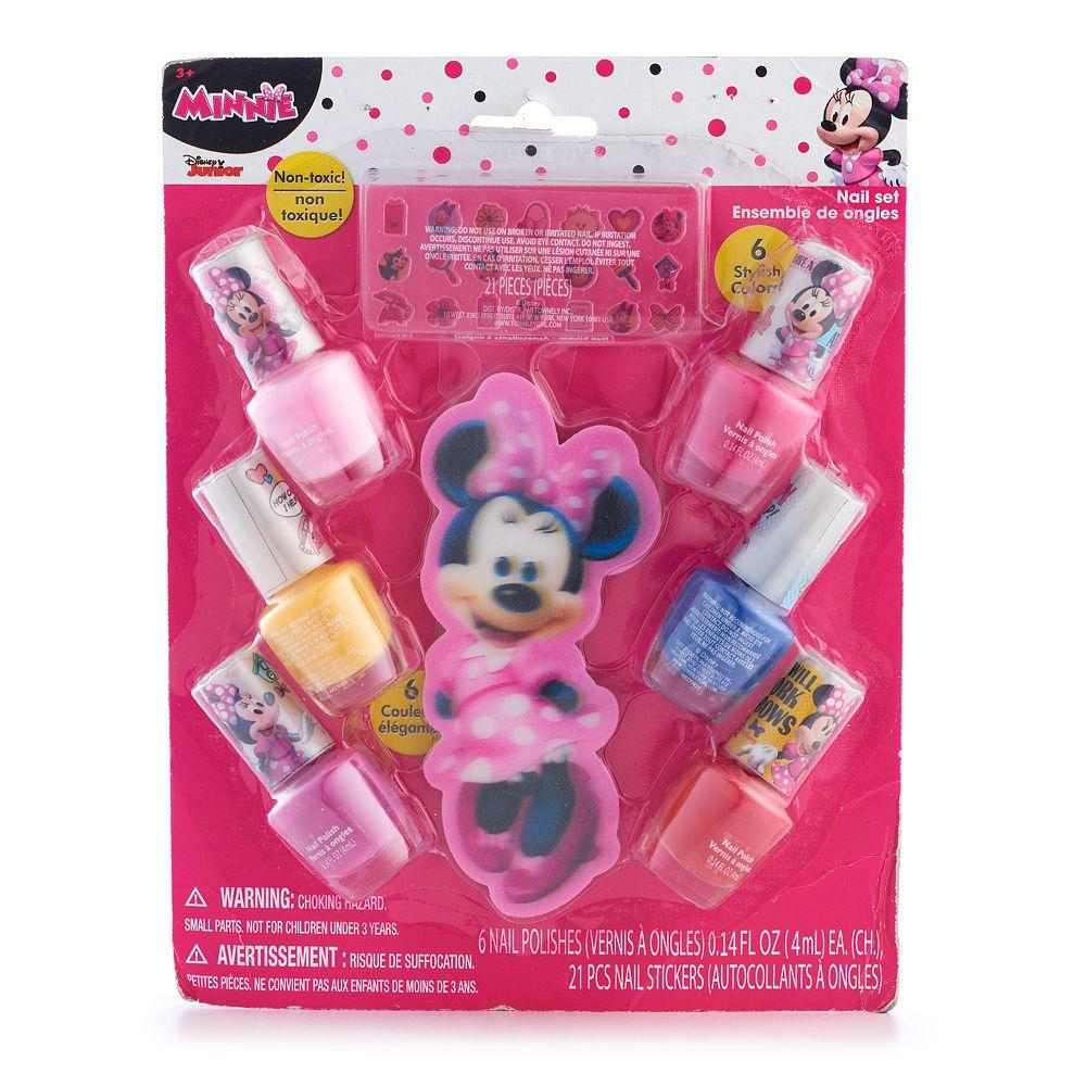 Disney\'s Minnie Mouse Girls 4-16 Nail Polish Set