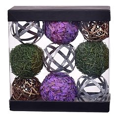 SONOMA Goods for Life™ Botanical Ball Vase Filler 9-piece Set