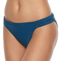 Mix and Match Shirred Hipster Bikini Bottoms