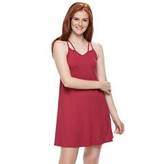Juniors' Mudd® Soft Strappy Dress