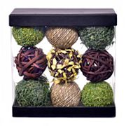 SONOMA Goods for Life™ Botanical & Grass Ball Vase Filler 9 pc Set