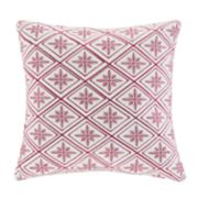 N Natori Cherry Blossom Throw Pillow