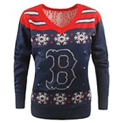 Women's Boston Red Sox Light-Up Holiday Sweater