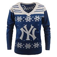 Women's New York Yankees Light-Up Holiday Sweater