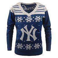 Women's New York Yankees Light-Up Holiday Sweater