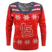 Women's St. Louis Cardinals Light-Up Holiday Sweater