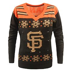 Women's San Francisco Giants Light-Up Holiday Sweater