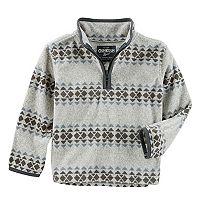 Toddler Boy OshKosh B'gosh® Microfleece 1/4-Zip Pullover