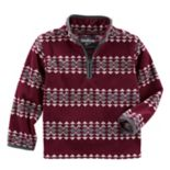 Toddler Boy OshKosh B'gosh® Microfleece 1/4-Zip Pullover
