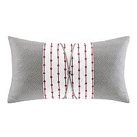 N Natori Cherry Blossom Oblong Throw Pillow