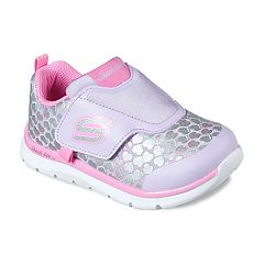 Skechers Skech-Lite Heart Sprinters Toddler Girls' Sneakers