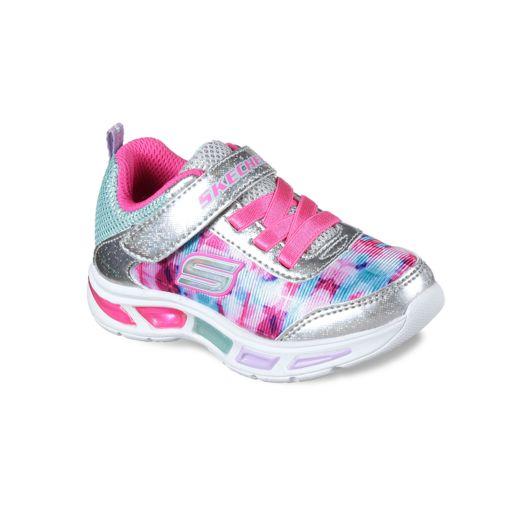 Skechers S Lights Litebeams Dance N Glow Toddler Girls' Light Up Sneakers