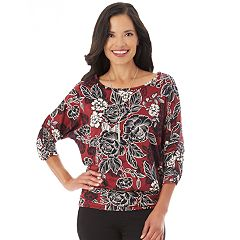Women's Apt. 9® Banded Bottom Top
