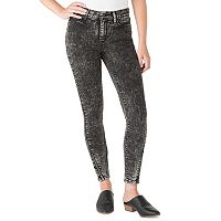 Juniors' DENIZEN from Levi's Zipper Ankle High-Waist Jeggings