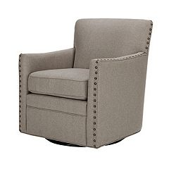 Madison Park Farina Swivel Arm Chair