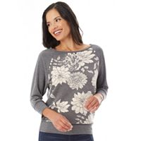 Women's Apt. 9® 3/4 Sleeve Raglan Top