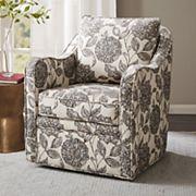 Madison Park Betty Swivel Arm Chair