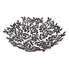 SONOMA Goods for Life™ Metal Floral Vines Decorative Bowl
