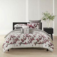 N Natori Cherry Blossom Comforter Set