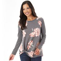 Women's Apt.9® Knit Knot Top