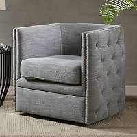 Madison Park Wilmette Swivel Arm Chair