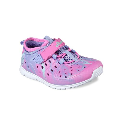 db5b65c8ddd1 Skechers Hydrozooms Toddler Girls  Water Shoes
