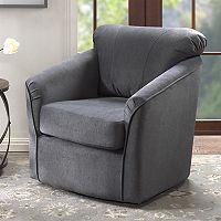 Madison Park Elgin Swivel Arm Chair