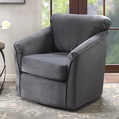 Madison Park Elgin Swivel Arm Chair