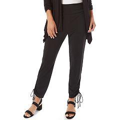 Women's Apt. 9® Drawstring Hem Soft Pants