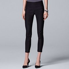 Women's Simply Vera Vera Wang Modern Pull-On Skinny Ankle Pants
