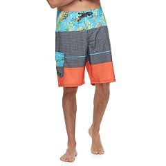 Men's Ocean Current Pineapple Tech Cargo Board Shorts