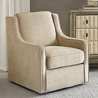 Madison Park Lois Swivel Arm Chair
