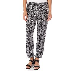 Women's Apt. 9® Elastic Ankle Soft Pants