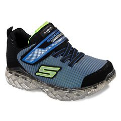 Skechers S Lights Flex Charge Ronex Boys' Light Up Sneakers