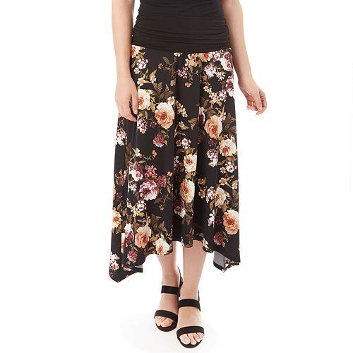 Women's Apt. 9® Handkerchief-Hem Skirt