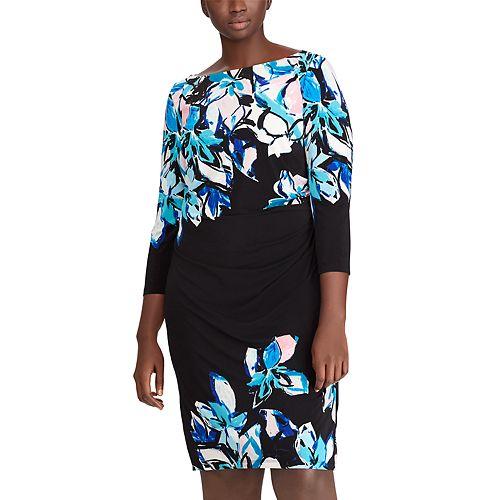 Plus Size Chaps Jersey Sheath Dress