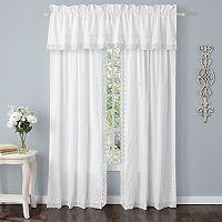 Laura Ashley Lifestyles Annabella Crochet Window Curtain Set