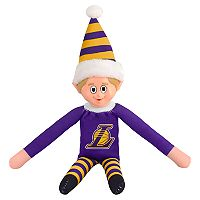 Forever Collectibles Los Angeles Lakers Team Holiday Elf