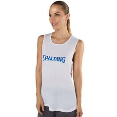1e82d37b9582d Women s Spalding Sleeveless Ombre Logo Graphic Tee