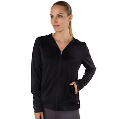 Women's Spalding Basketball Warm-Up Hooded Zip-Up Jacket