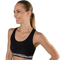 Spalding Bras: Racerback Medium-Impact Sports Bra 6875-00