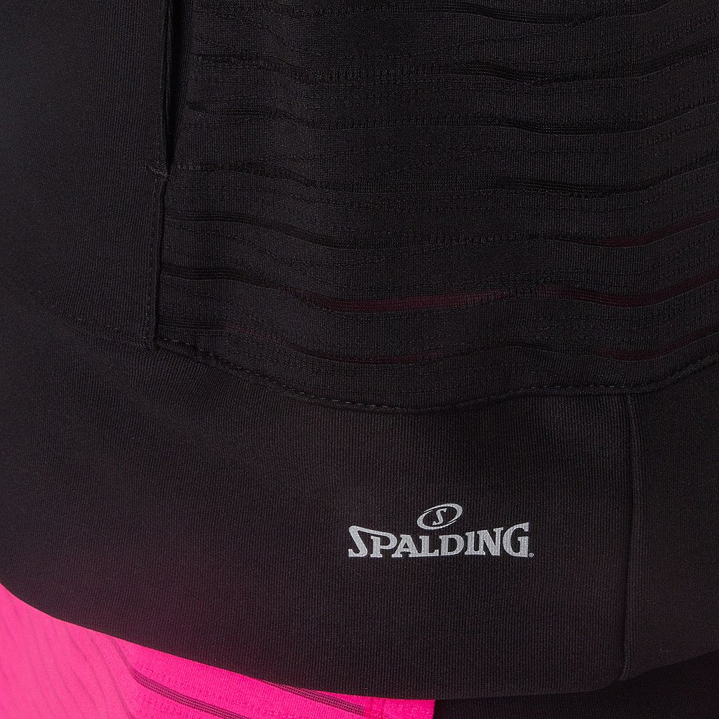 Women's Spalding Warrior Mesh Fitted Bomber Jacket
