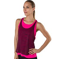 Women's Spalding Double Layer Warrior Mesh Tank