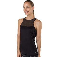 Women's Spalding Mesh High Neck Tank