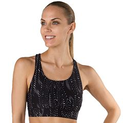Spalding Bras: Peace Back Medium-Impact Sports Bra 7700-A0