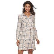 Women's Lee Plaid Shirt Dress