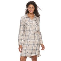 Women's Lee Plaid Shirt Dress