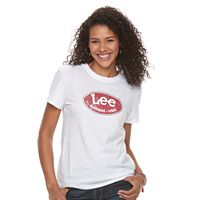 Women's Lee Button Logo Tee